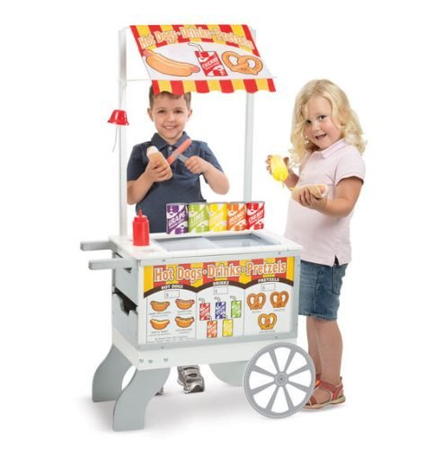 עגלת גלידה ונקניקיות 2 ב-1 מליסה ודאג