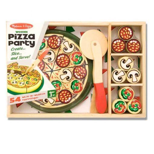 ערכה מעץ להכנת פיצה מבית מליסה ודאג