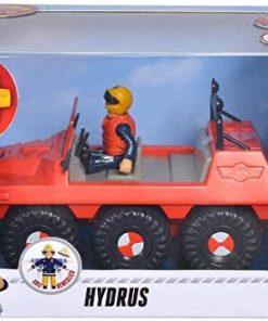 רכב הידרה עם דמות - סמי הכבאי