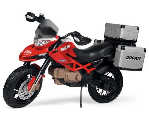 אופנוע לילדים דוקטי אנדורו 12V Peg perego