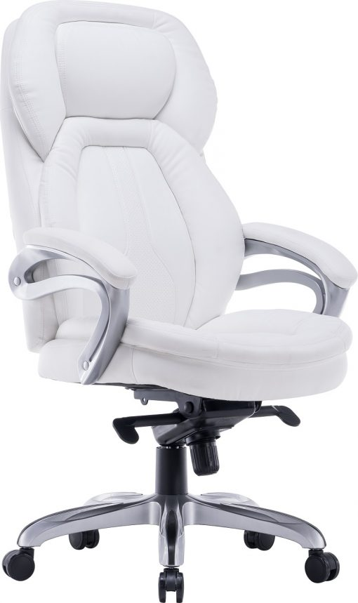 כיסא אמבסדור בצבע לבן