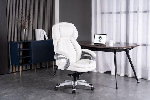 כיסא מדגם אמבסדור לבן