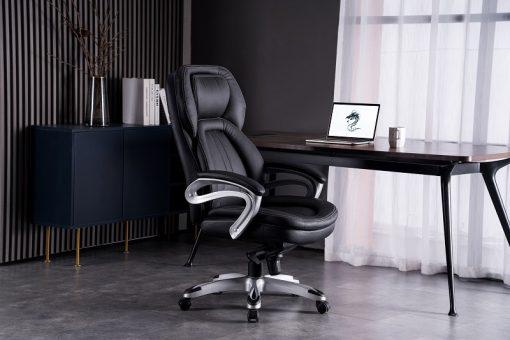 כיסא מנהלים שחור דראגון