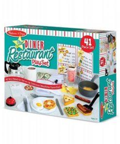 משחק מסעדה דיינר אמריקאי לילדים
