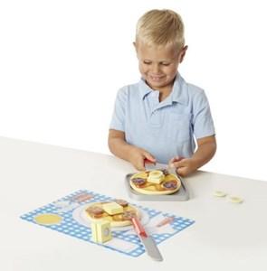 משחק מעץ להכנת פנקייקים לילדים